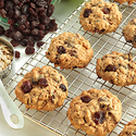 3 o'clock California Raisin Oatmeal Cookies